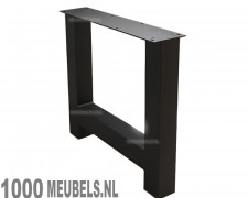 Steel support low Fat H coated